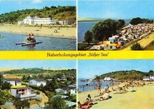 """AK, Seeburg Kr. Eisleben, Naherholung """"Süßer See"""", 1977"""