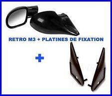 RETRO RETROVISEUR TYPE M3 + FIXATION BMW SERIE 3 E30