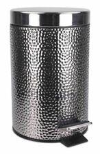 really good small black Waste Bin - Stainless Steel metal