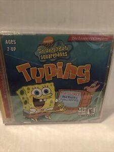 Scholastic: SpongeBob Squarepants Typing WIN MAC Software (2004) - cracked case