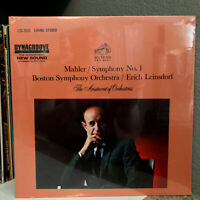 "MAHLER Sym #1, Boston Sym. Leinsdorf (LSC-2642) - 12"" Vinyl Record LP - SEALED"