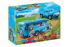 PLAYMOBIL 9502 Family Fun Park Pickup with Caravan Camper Car NEW