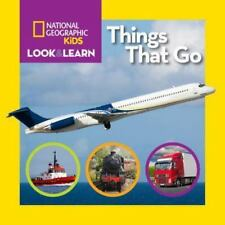 Look & Learn: Things That Go (Board Book)