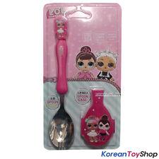 LOL Surprise Stainless Steel Spork Spoon Case Set w/ Case Made in Korea