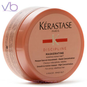 KERASTASE Discipline Maskeratine Smoothing Masque for Frizzy Hair, 75ml Mask