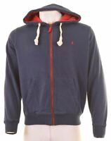 JOULES Mens Hoodie Sweater XL Navy Blue Cotton  AO13