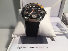 New - Reloj Watch TECHNOMARINE Black Reef 48mm Ref. 512001 - Box & Papers