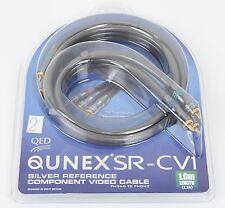 QED Qunex SR-CV1 Component Video oder Digital-Kabel 1,0 m UVP war € 135,00