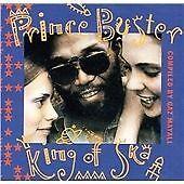 PRINCE BUSTER KING OF SKA CD NEW SEALED MANY TRACKS NEW TO CD + RARITIES MADNESS
