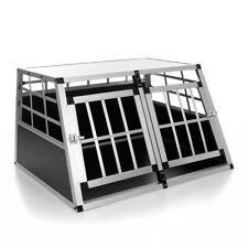 Hundetransportbox Hundebox Gitterbox Alubox Transportbox Autobox Reisebox ALU L