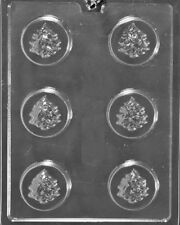 C461 Tree Cookie Chocolate Candy Mold w/instructions