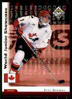1998-99 Upper Deck UD Choice Reserve Eric Brewer #256