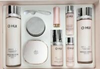 Korea cosmetic OHUI Miracle Moisture 4pcs set skin, Cushion, Emulsion Anti aging