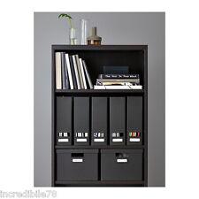 IKEA BILLY Libreria, marrone-nero 40x28x106 cm