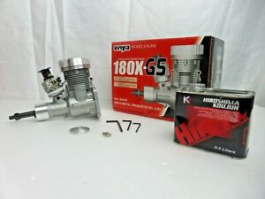 ENYA Engine 180X-GS Petrol Engine w/ Glow Plug (Not Spark Ignition) *VINTAGE*