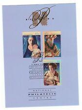 Australia 1996 Christmas Set Obverse National Philatelic Centre Postcard Fdi