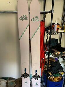 DPS Pagoda Tour 100 RP Skis w Black Diamond Helio Bindings and Pomoca/DPS Skins