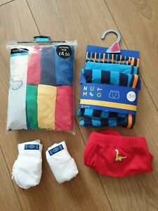 Boys Trunks and briefs, Size 5-6 Years and 6-7, brand new