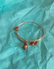 Alex and Ani Conch Shell Sea Ocean Beach Gold Charm Bangle Bracelet