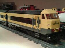 LEGO® City Eisenbahn XL Steuerwagon mit Türen schwarz-gelb 7939 bricktrain