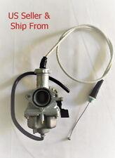 ATC185 ATC185S ATC200 ATC200S TRX200 Carburetor for Honda include Throttle Cable