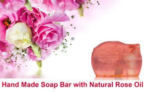 Hand Made Bra Soap with Bulgarian Rose Damascena,120gr