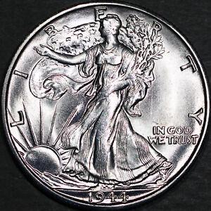 1944-S Walking Liberty Half Dollar 50C - Gem Uncirculated