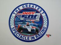 2018 Indianapolis 500 102ND Running Event Round Plastic Collector Sign