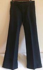 ASPESI linen cotton black pants made in Italy IT 38