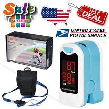 USA Pulse oximeter Finger Blood Oxygen Saturation LED SPO2 Heart Rate Monitor