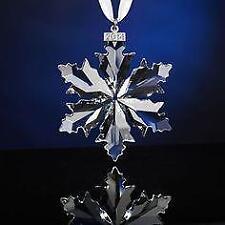 Swarovski Christmas Ornament 2016 Snowflake 25th Anniversary 5180210 NIB Sealed