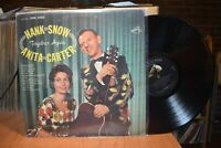 Hank Snow Anita Carter Together Again LP RCA LSP-2580 Stereo