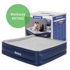 Bestway Luftbett mit Elektropumpe 203x152x56cm Gästebett Reisebett Luftmatratze