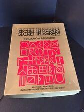 B20) Vintage Game By Skor-Mor SECRET TELEGRAM The Cofe Crack-Up Game RARE