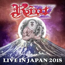 RIOT V - Live In Japan 2018 - 2CD+Blu-Ray-Disc - 884860283076