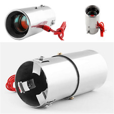 Spitfire Car LED Exhaust Pipe Red Light Flaming Muffler Tip For Car Motocycle