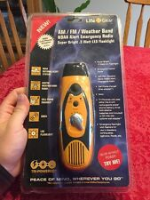OPEN BOX Life Gear AM/FM Weather Band NOAA Portable Emergency Radio PSDN0AA05