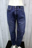 STONE ISLAND Jeans Uomo Taglia 34 / 48 Pantalone Regular Cotone Pants Men Man