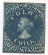 CHILE #12, Mint Hinged, Scott $40.00