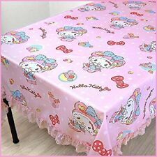Hello Kitty Table Cover Cloth Sheet Cute Party BBQ Wedding Sanrio Japan F/S