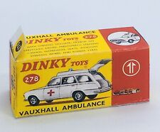 Dinky 278 Vauxhall Ambulance Empty Repro Box Only