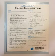 Addison-Wesley's Calculus Review, Part One