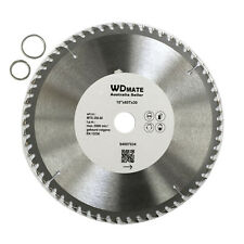 "3x 250mm 60T Wood Cutting DISC  TCT Circular Saw Blade 10"" Wheel Cross H4007034"