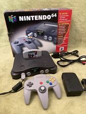 Nintendo 64 - N64 Console - Boxed Complete With Game - Good Condition!