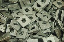 (100) Galvanized Malleable 1/2 Square Bevel Washers I-Beam Flange Wedge