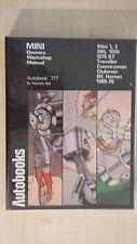 Autobook 777 MINI Officina Proprietari Manuale