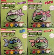 Nickelodeon Teenage Mutant Ninja Turtles Suncatcher Paint Sets X4 - All Turtles