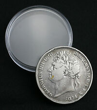 1821 King George IIII/IV SILVER Crown - British Coin (GZ33)