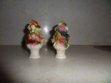 Vintage Ceramic Fruit Bowl Salt & Pepper Shakers Japan