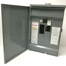 Square D Load Center 100a Main Breaker Panel Box 1 Phase 20 Circuit Nema 3r